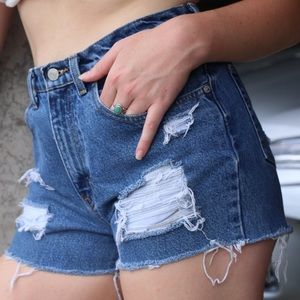 Ralph Lauren Reworked Denim Shorts